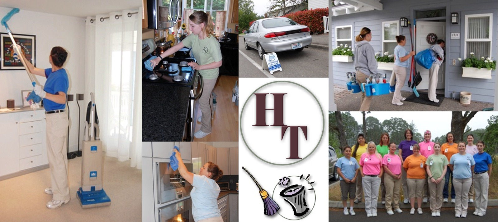 Home Town Housekeeping, providing house cleaning services and maid services for Lakewood, Lacey, Dupont and Olympia, WA
